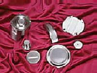 Custom Vacuum Furnace Brazed Parts